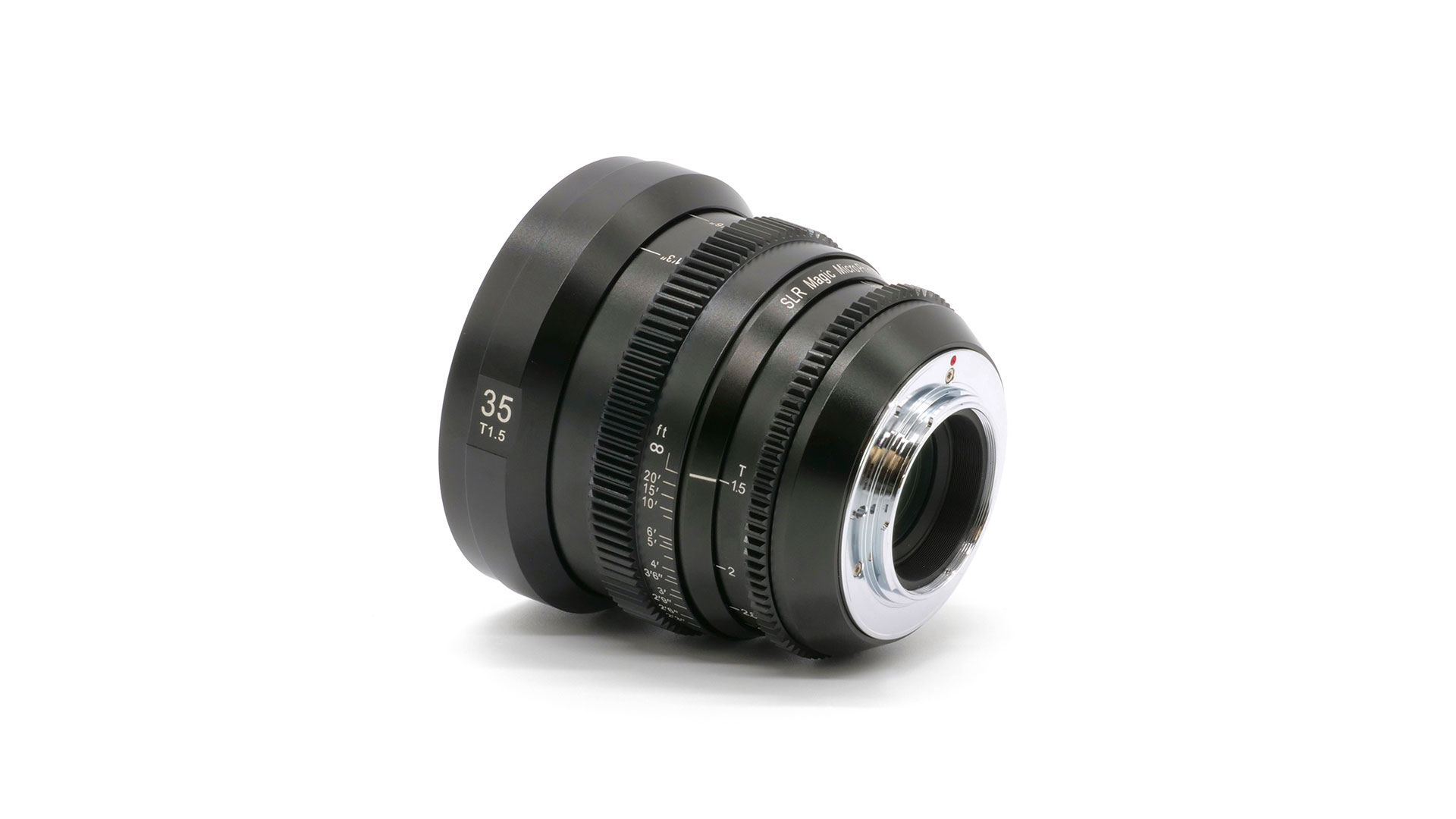 SLR Magic MicroPrime CINE 35mm T1.5  MFT
