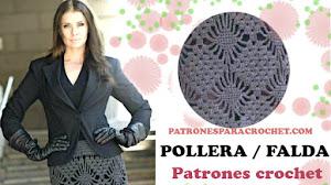 Patrones de Falda o Pollera a Crochet 💗