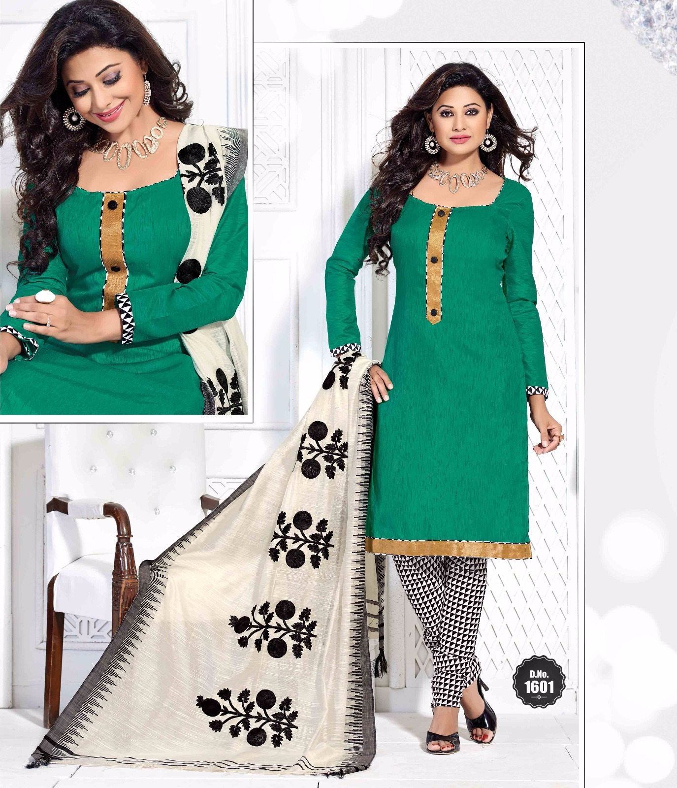 Rim Jim-16 – Latest New Churidar Dress Material Buy Online