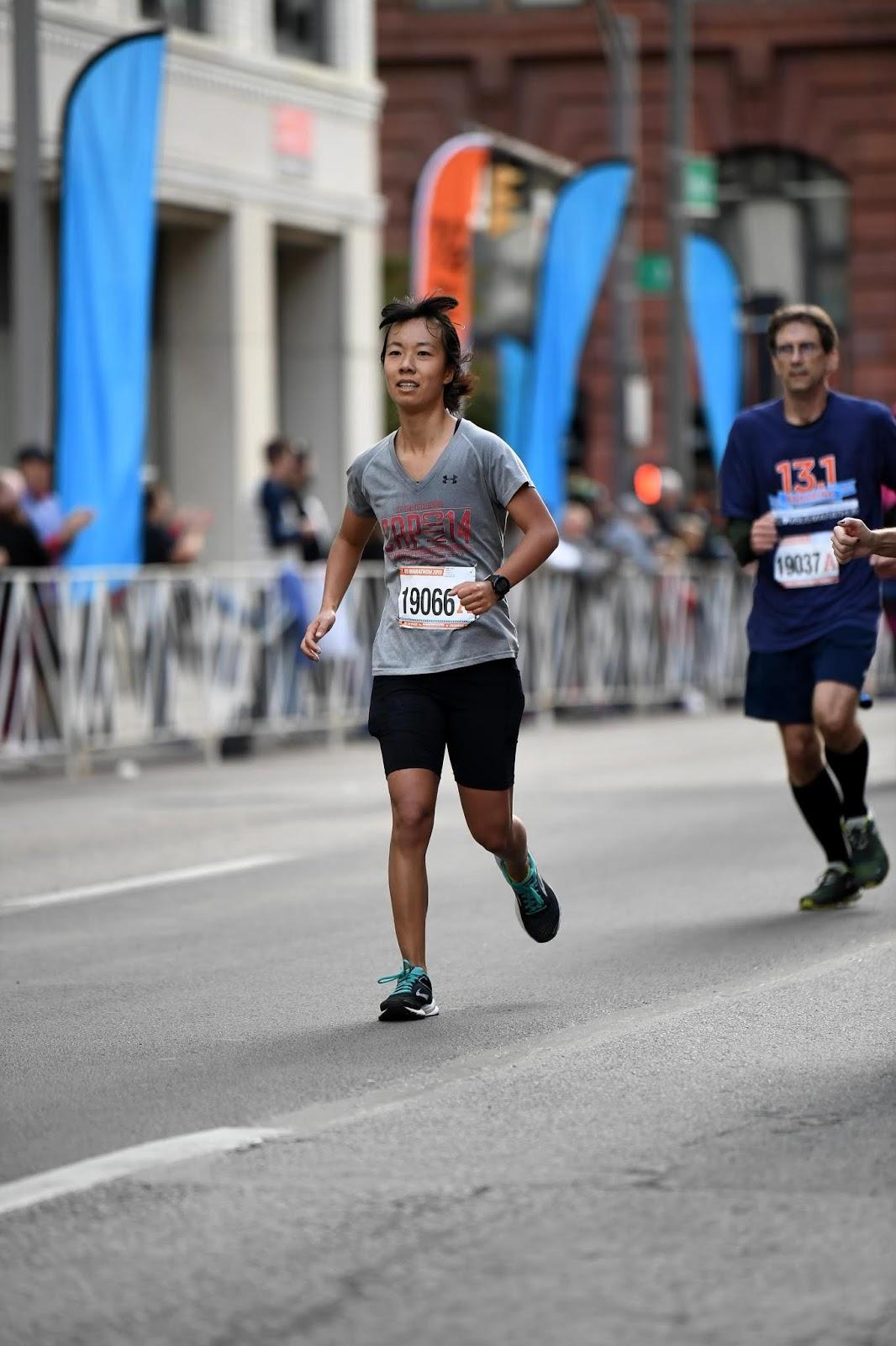 me in the columbus half marathon