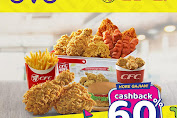 CFC Promo OVO Payday Cashback 60% Periode 28 Februari - 1 Maret 2020