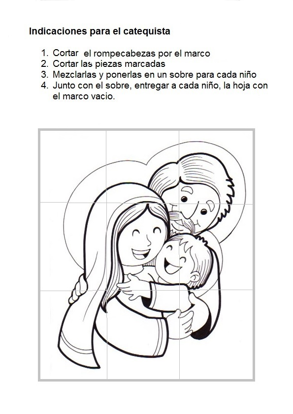 La Catequesis (El blog de Sandra): Recursos Catequesis Sagrada Familia