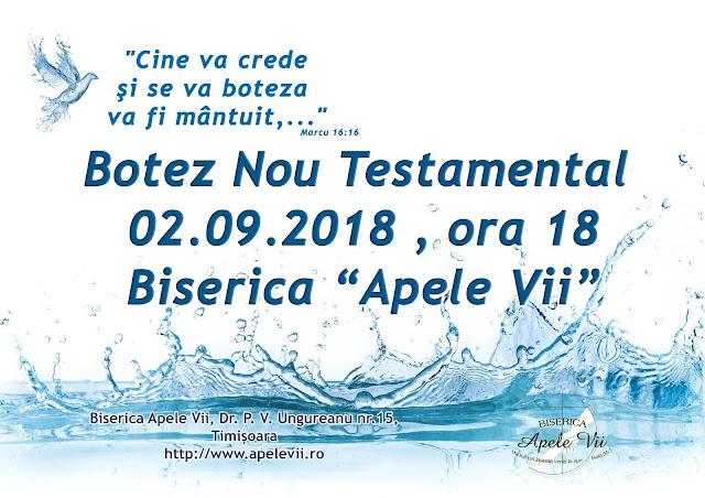 botez apele vii