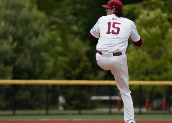 Tim Brennan of Saint Joseph's helped the club to a combined one-hitter
