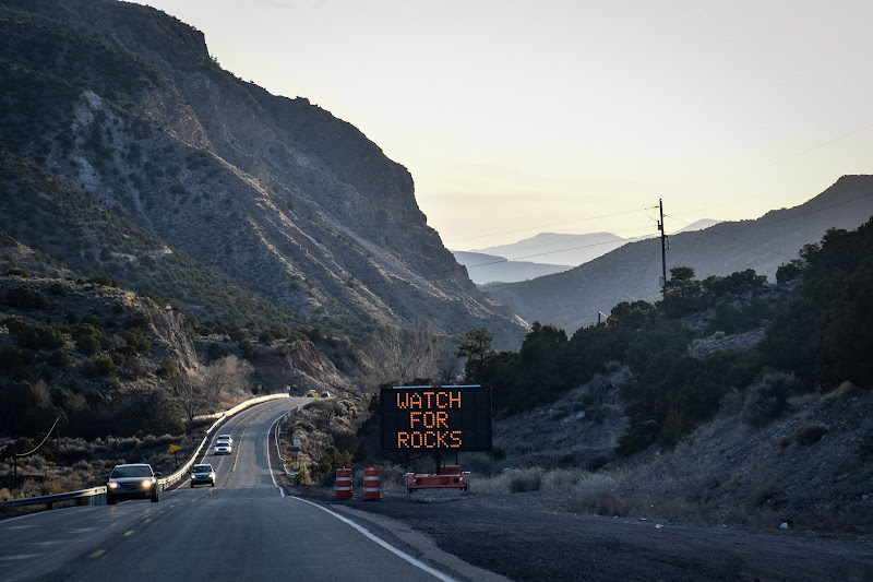 De camino a Rio Grande National Monument