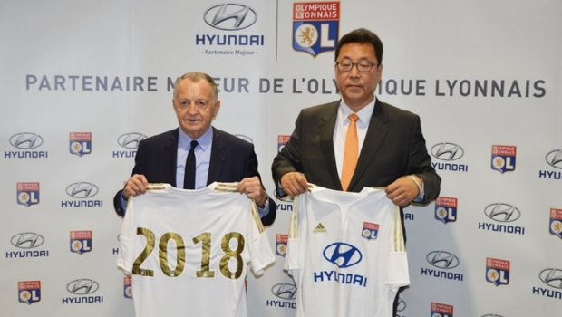 El Olympique de Lyon renueva con Hyundai