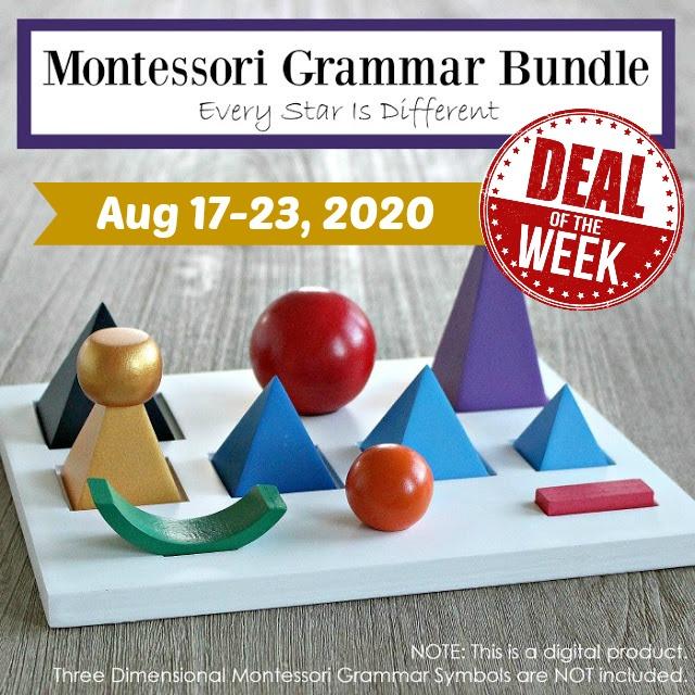 Deal of the Week: Montessori Grammar Bundle
