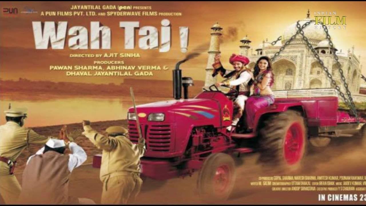 Complete cast and crew of Wah Taj (2016) bollywood hindi movie wiki, poster, Trailer, music list - Shreyas Talpade and Manjari Fadnis, Movie release date 23 Sep, 2016