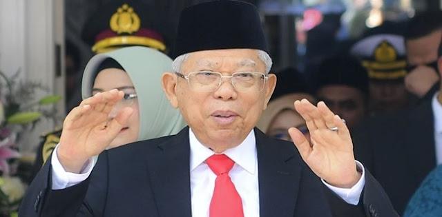 Maruf Amin Perlu Tiru Cara Jusuf Kalla,Untuk Menyelesaikan Keriuhan Publik