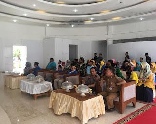 Kapolres Hadiri Pelantikan Pengurus PMII Kabupaten Pangkep