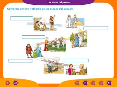 http://ceiploreto.es/sugerencias/juegos_educativos_6/11/5_Las_etapas_del_pasado/index.html