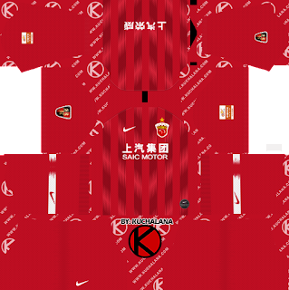 Shanghai SIPG FC 2019 Kit - Dream League Soccer Kits