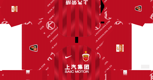 Shanghai SIPG FC 2019 Kit - Dream League Soccer Kits ...
