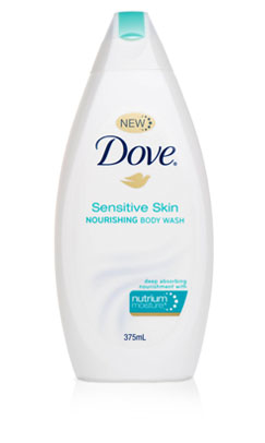 Dove facial cleanser for sensitive skin — photo 1