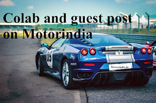 Colab and guest post on Motorindia Motor India blog