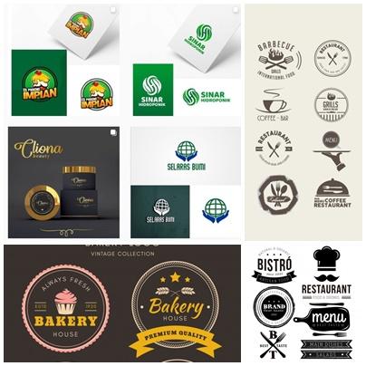 desain logo makanan minuman keren