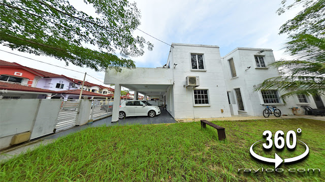 Taman Seri Murni Sungai Dua Butterworth Renovated Extended Terrace Corner For Sale