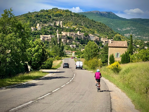 French Village Diaries cycling les Gorges de la Nesque Provence Montbrun-les-Bains Drome