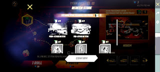 How to get the Attack on Titan M1014 and P90 skins in Free Fire