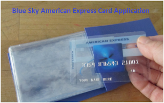 Blue Sky American Express Card Application for Best Offer