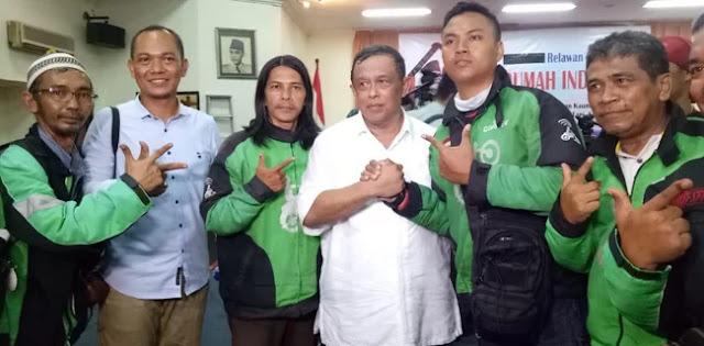 75 Persen Ojol Dukung Prabowo-Sandi