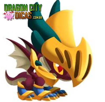 Dragão Glitter
