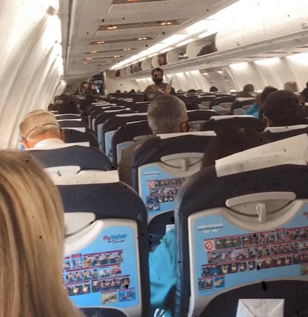 Full Safair flight during Covid19