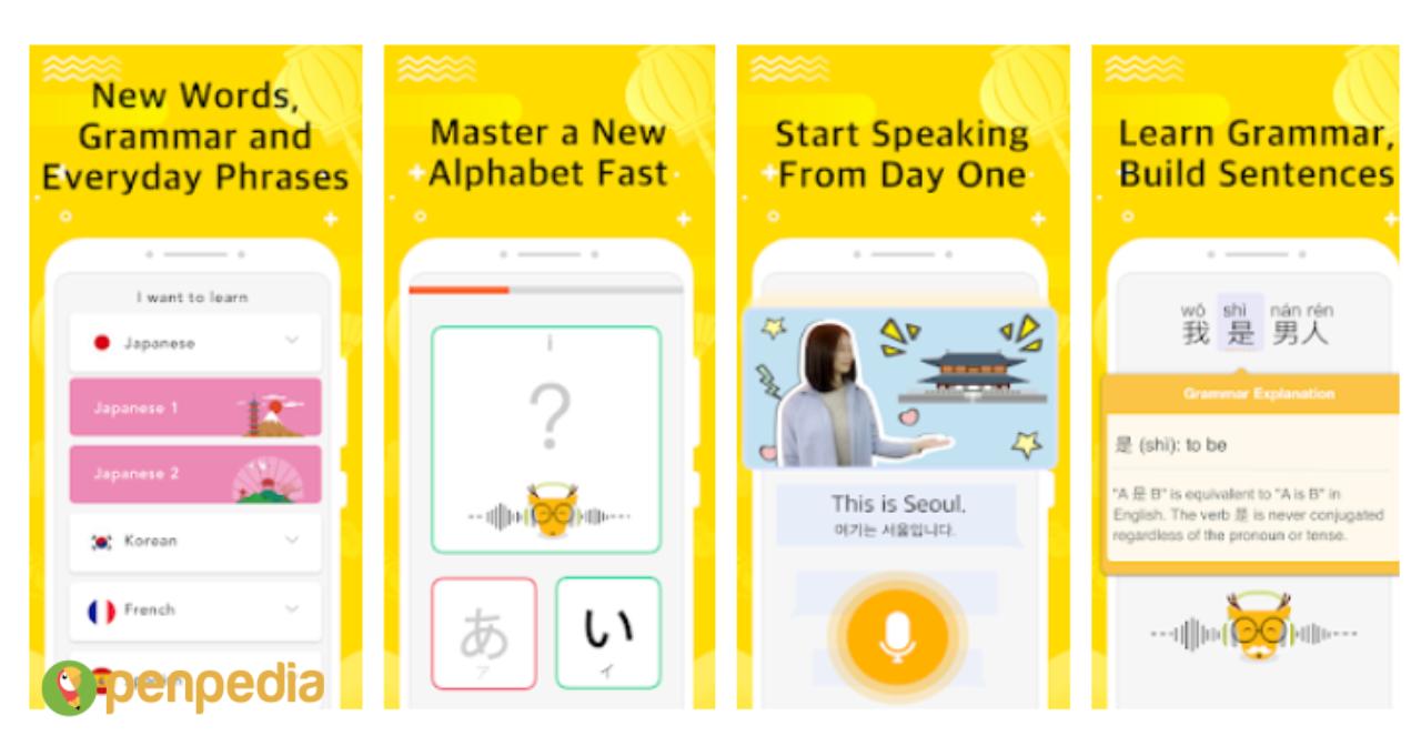 top aplikasi belajar bahasa jepang