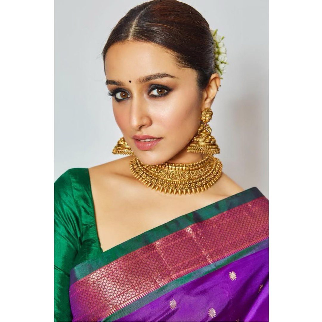 Shraddha Kapoor New Photoshoot in Saree