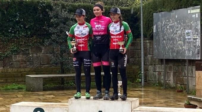 El Río Miera - Meruelo logró un doble podium en Euskadi