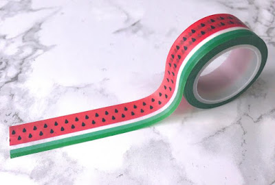 Watermelon Washi Tape