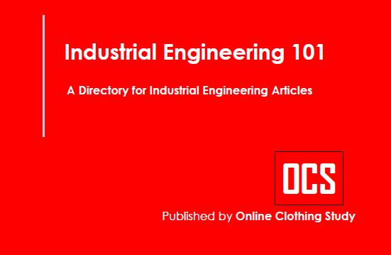 Industrial engineering in garment industry