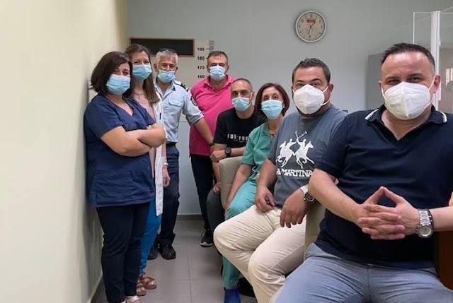 Ο Ιατρικός Σύλλογος Αργολίδας εμβολίασε 110 κρατούμενους των φυλακών Ναυπλίου