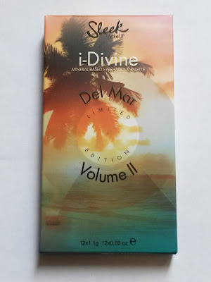 Del Mar volume 2 Sleek MakeUp