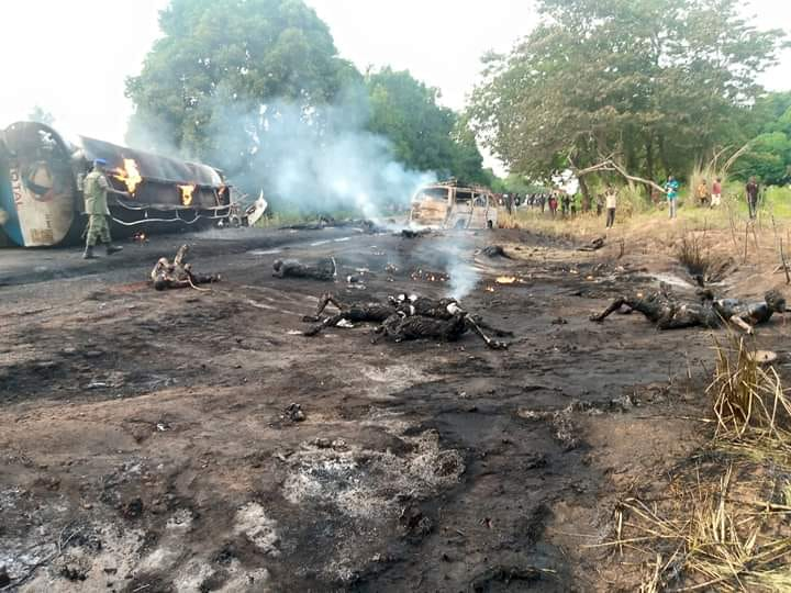 50 Feared Killed, 70 Left Injured In Benue Tanker Explosion - See Photos Here