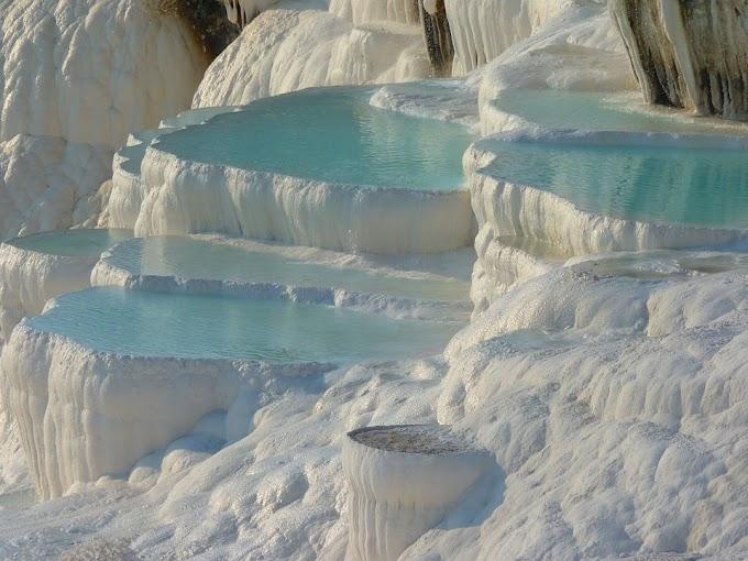 Las aguas termales más famosas de Turquía:  Pamukkale