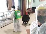 Gus Wahid Wafat karena Covid-19, Gedung PWNU Jatim Disemprot Disinfektan