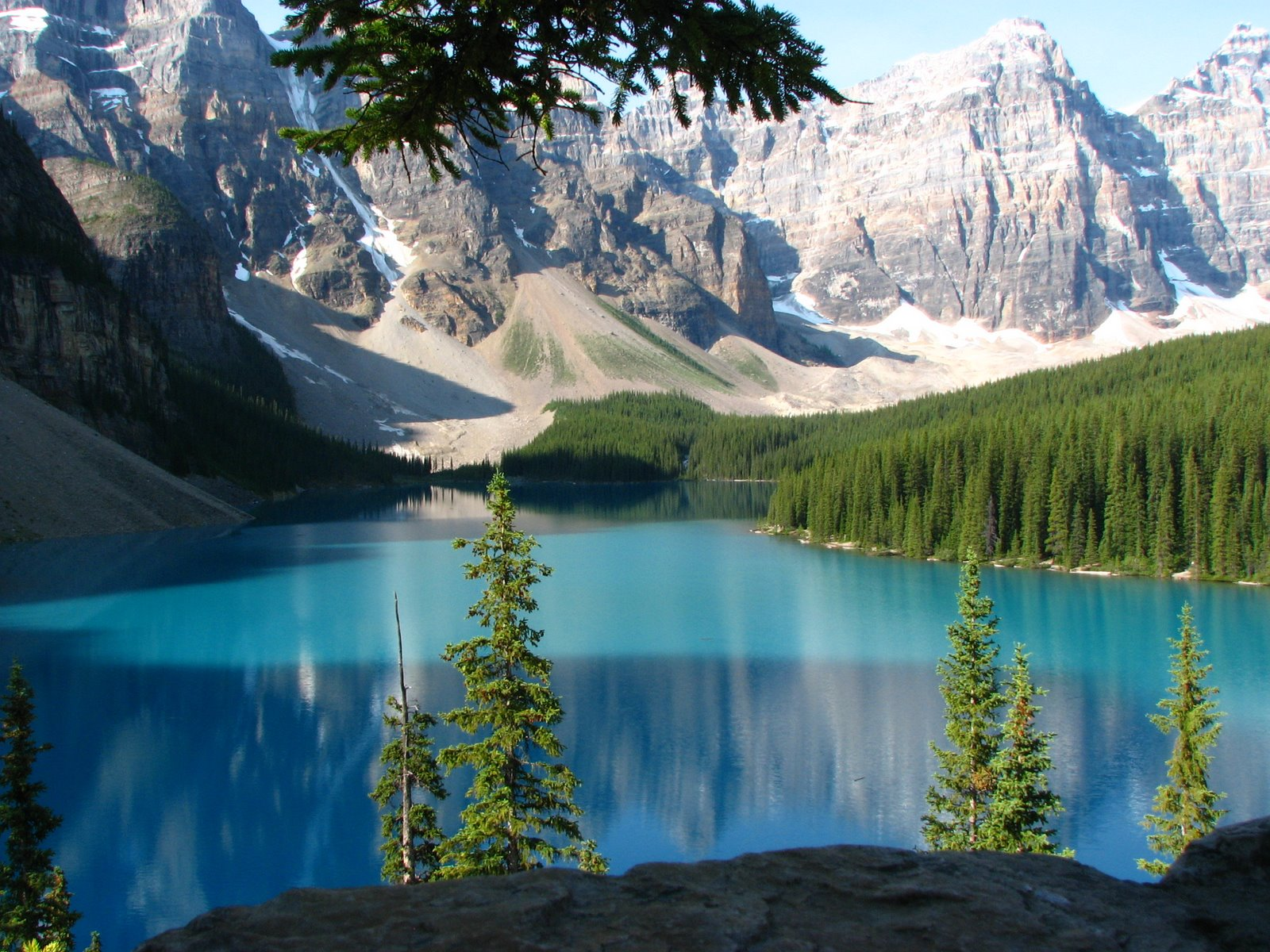 Travel Trip Journey Moraine Lake Banff National Park
