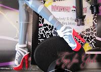 Туфли на кукле кошке Пурсефоне Монстер Хай серия Зомби шейк