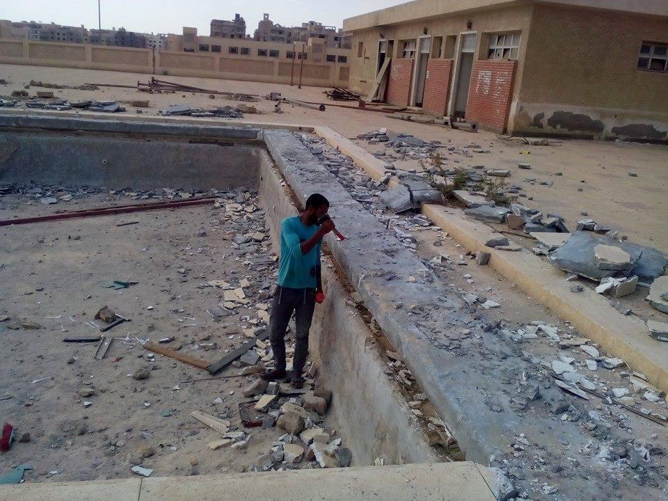 مركز شباب الشيخ زايد يخرج من غيبوبته