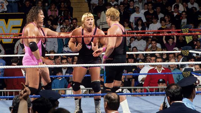 Resultado de imagem para bret hart vs shawn michaels survivor series 1993