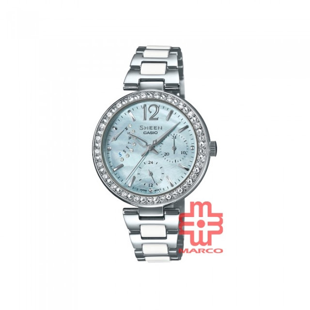 Where to Buy, Authentic Casio Sheen Watch, Sheen She-3042D-2A, Stainless Steel Band Women Watch, Casio Malaysia, Casio Watches, Sheen Watches, Marco Online Store, Marco Malaysia, Fashion, Women Watch