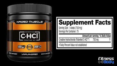 أفضل مكمل معزز بحمض الهيدروكلوريك كرياتين HCl