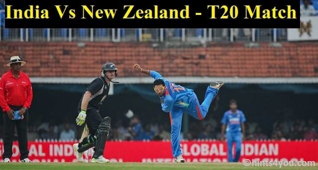 India vs New Zealand Live Streaming, 2nd T20 International Match: