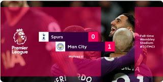 Tottenham Hotspur vs Manchester City 0-1 Highlights