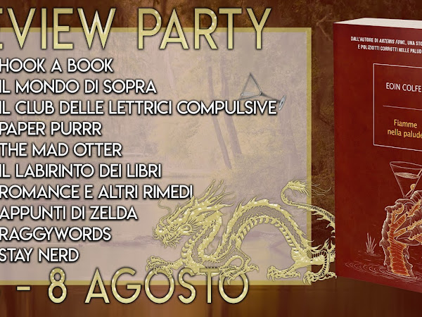 Review Party - Fiamme nella Palude di Eoin Colfer