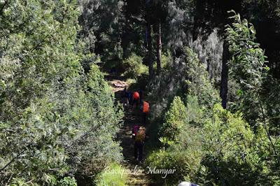 Menuju pos 2 Puncak Sejati Gunung Sumbing - Backpacker Manyar