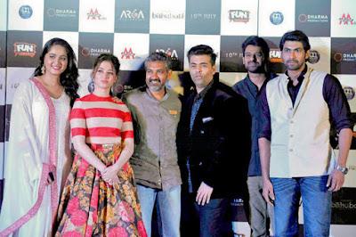 Baahubali all actors