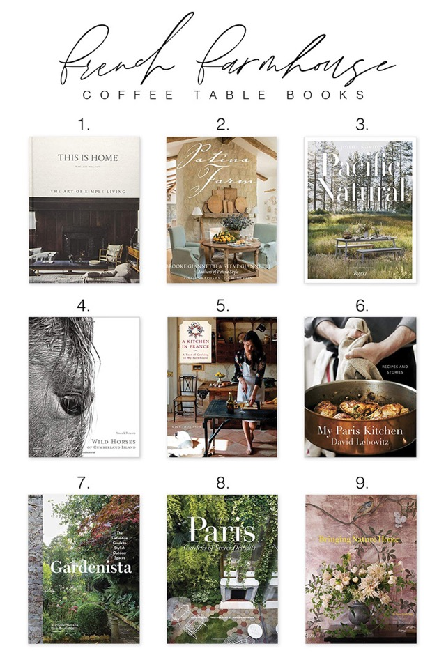 Coffee Table Books From Our Cottage To Yours Megan Runion