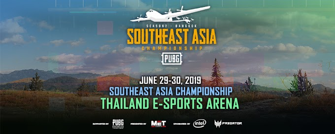 Predator Backs Up PUBG Sea Championship Season 2
